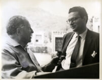 Leon Fleisher with Pierre Monteux, 1959 [descriptive]