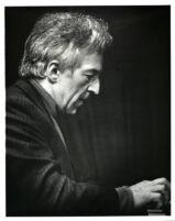 Vladimir Ashkenazy playing the piano, 1985 [descriptive]