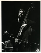 Gary Karr playing the bass, 1986 [descriptive]