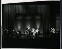 Andrés Segovia conducting a master class, 1986 [descriptive]