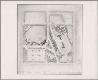 Plan for Palm Springs Field Club, Palm Springs, 1949