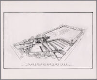 Plan for Palm Springs Northend Park, Palm Springs, 1946-1952?