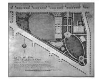General plan for La Palma Park, Anaheim, 1936