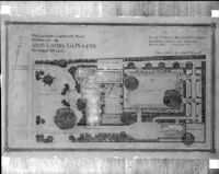 Preliminary landscape plan for the Miss Laura La Plante residence, Beverly Hills, 1926