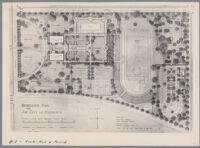 Plan for the Recreation Park for the City of Monrovia, Monrovia, 1923