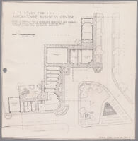 Site study for Auroratowne Business Center, 1948