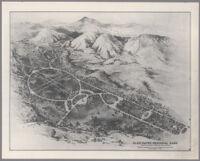 Plan for Glen Haven Memorial Park, San Fernando, circa 1940