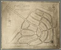 General plan of Monte Mar Vista, Los Angeles, 1924
