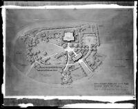 Preliminary plan for city park, Redondo Beach, 1947