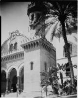 Ketchaoua Mosque, view of the main entrance, Algiers, 1929