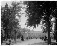 Parc de Saint-Cloud, view of a broad promenade, Saint-Cloud, France, 1929