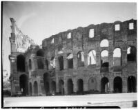 Colosseum, exterior view from the west, Rome, Italy, 1929