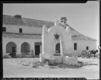 Well outside a building, La Penucla Granja, Spain, 1929