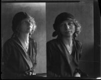 Double portrait of Ruth Iva Cornell