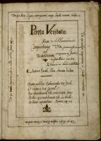 Porta veritatis, sive Compendiaria ad beatitudinem