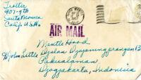 Envelope addressed to Mantle Hood