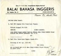 Materials from Radio Republik Indonesia