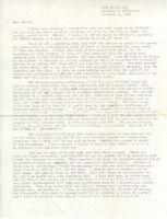 Typewritten letter to Mantle Hood