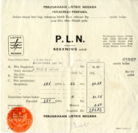 Receipts from Indonesia, list of terompong