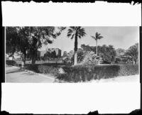 Exterior view of the Miramar Hotel, Santa Monica, [between 1920-1939?]