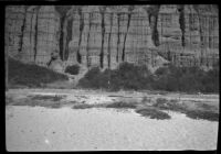 Palisades Park cliff, Santa Monica, 1929