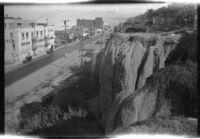 Santa Monica from Palisades Park cliffs, Santa Monica, 1929