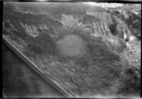 Palisades Park cliffs, Santa Monica, 1929