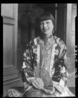 Rosemary Chew at the Otis Art Institute or the Elks Lodge No. 99, Los Angeles, 1928