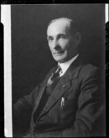 William H. Carter, mayor of Santa Monica [Santa Monica?], 1934