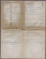 Typewritten description of photos of Rancho Los Cerritos, 1929
