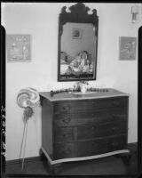 George and Gertrude Temple residence, Shirley Temple's bedroom, Santa Monica, 1934