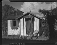 Playhouse at George and Gertrude Temple residence, Santa Monica, 1934