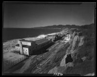 Santa Monica shoreline, Santa Monica, 1929