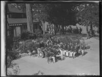 South Gate Boys Band, Lake Arrowhead, 1929