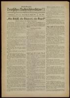 Deutsches Nachrichtenbüro. 5 Jahrg., Nr. 1336, 1938 August 25, Abend-Ausgabe