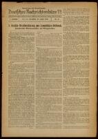 Deutsches Nachrichtenbüro. 7 Jahrg., Nr. 74, 1940 January 20, Nachmittags- und Abend-Ausgabe
