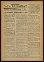 Deutsches Nachrichtenbüro. 7 Jahrg., Nr. 82, 1940 January 23, Nachtmittags-Ausgabe