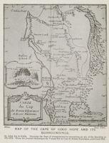 Carte du Cap de Bonne Esperance et de ses environs