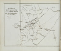 Rough sketch of site of posts on the eastern frontier and British Kaffraria (Cape of Good Hope)