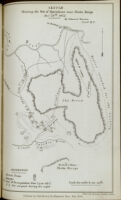 Sketch showing the site of operations near Thaba Bosigo