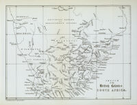 Sketch of the British Colonies South Africa