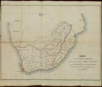 Kaart von Zuid-Afrika