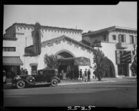 Brown Derby restaurant, Hollywood, 1931