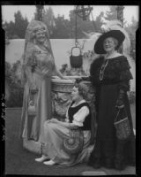 Women at garden party, Santa Monica, 1934