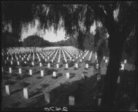 Los Angeles National Cemetery, Los Angeles, circa 1928