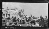 General view towards the Manufacturers Building at the Alaska-Yukon-Pacific Exposition, Seattle, 1909