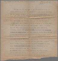 Typewritten description of photographs of San Bernardino Society for California Pioneers, 1925, 1926, or 1928