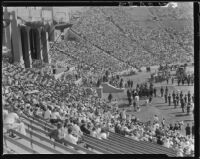 Crowd at La Fiesta de Los Angeles, Los Angeles Coliseum, September 1931
