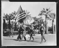 Armistice Day Parade, Santa Monica, 1919