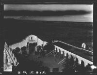 Courtyard, Mission San Xavier del Bac, near Tucson, Arizona, 1926